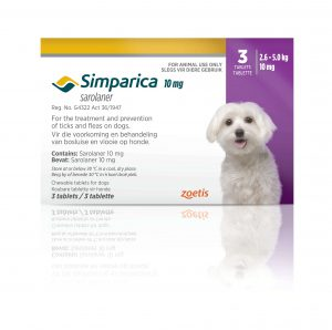 Simparica tick & flea 10mg