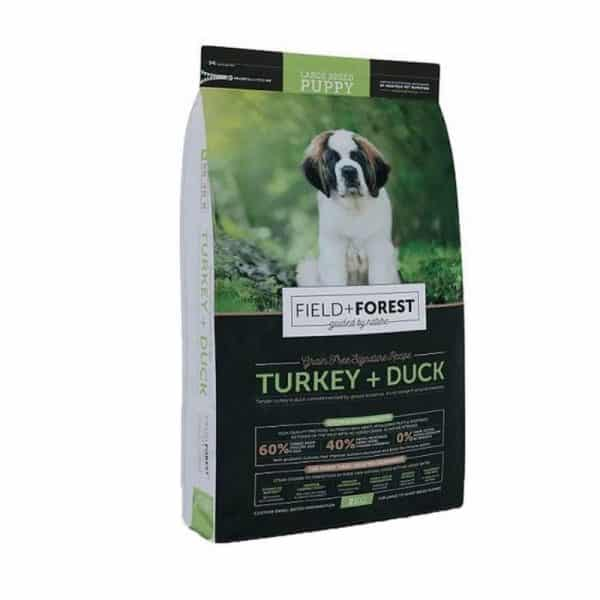 Field & Forest Turkey and Duck Large Breed Puppy