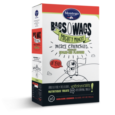 Montego Bags O' Wags Meaty Crunchies