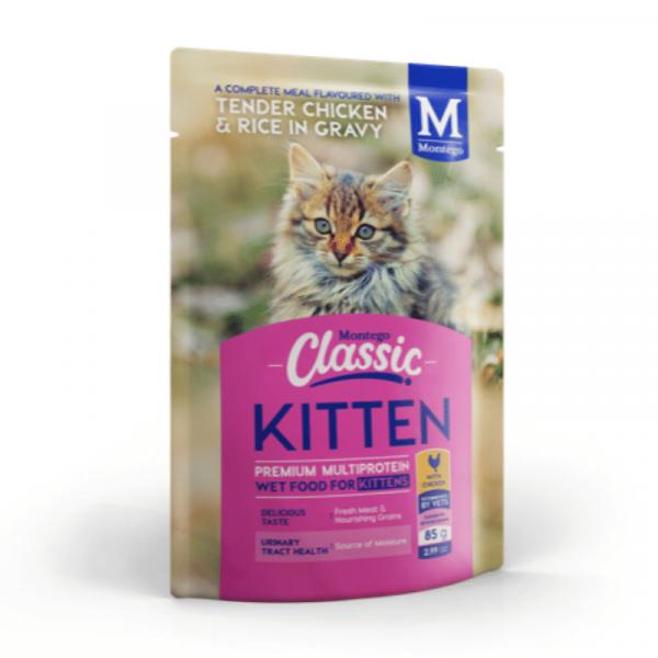 Montego Classic Kitten Wet food Chicken