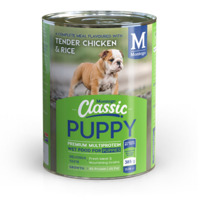 Montego Classic Puppy Dog Wet Food Chicken