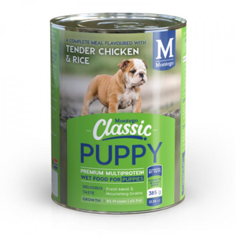 Montego Classic Puppy Dog Wet Food Chicken
