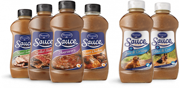 Montego dog food sauces