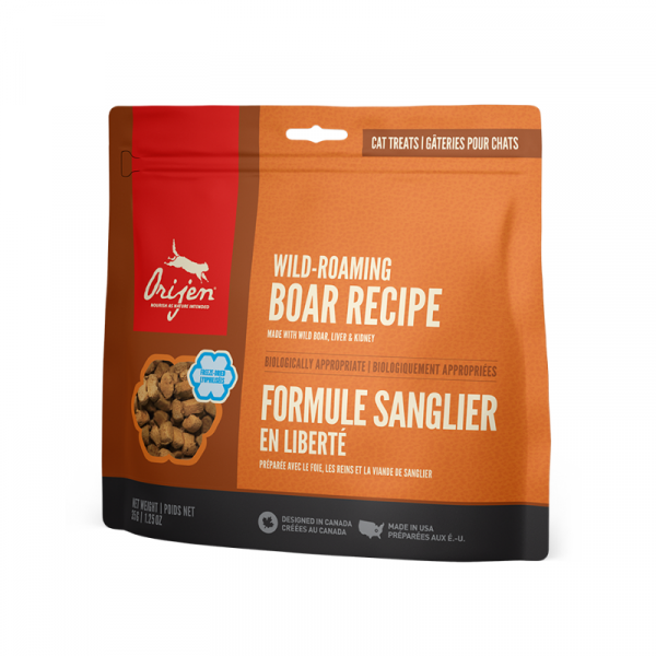 Orijen Wild Roaming Boar Formula Cat Freeze-Dried Treats