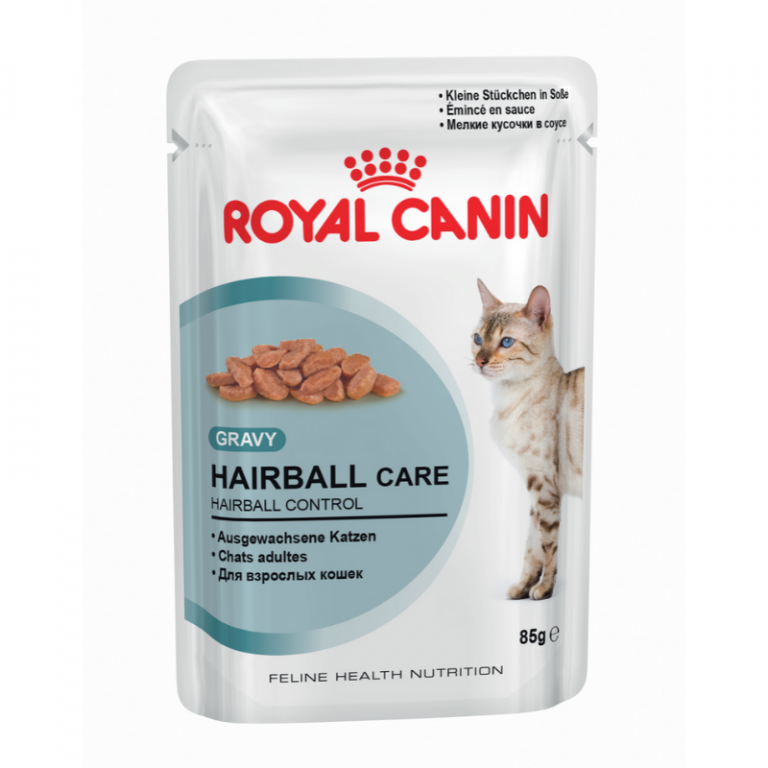 Royal Canin Hairball Care Cat Food Pouches
