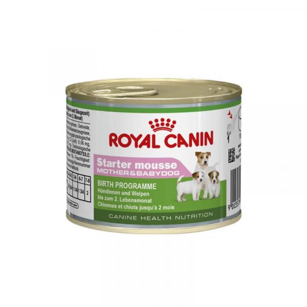 Royal Canin Starter Mousse Mother And Babydog