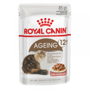 Royal Canin Wet Ageing 12+ Gravy Cat Food Pouches