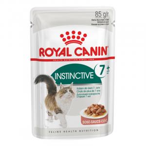 Royal Canin Wet Instinctive 7+ Gravy Cat Food Pouches