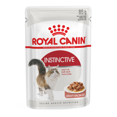 Royal Canin Wet Instinctive Gravy Cat Food Pouches