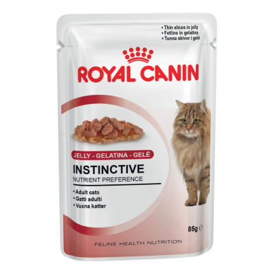 Royal Canin Wet Instinctive Jelly Cat Food Pouches