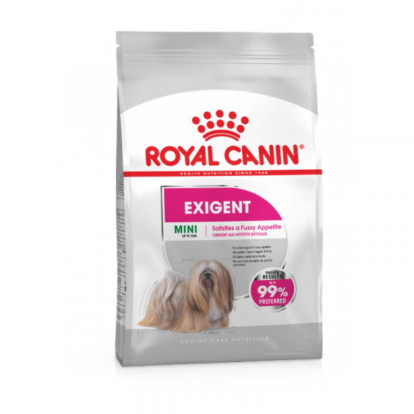 Royal canin mini exigent dog