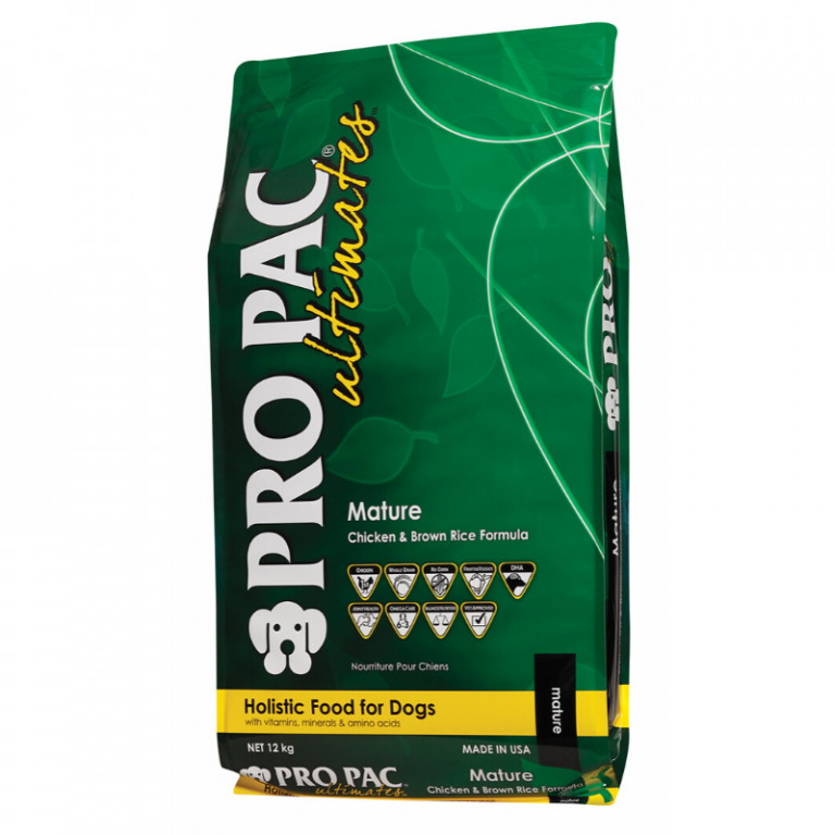 Pro Pac Ultimates Mature Chicken & Brown Rice Dog Food