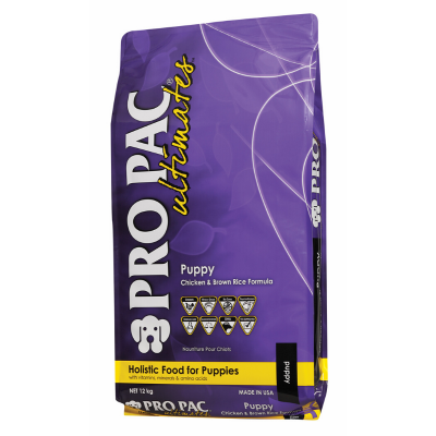 Pro Pac Ultimates Puppy Chicken & Brown Rice Dog Food