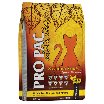 Pro Pac Ultimates Savanna Pride Cat Food