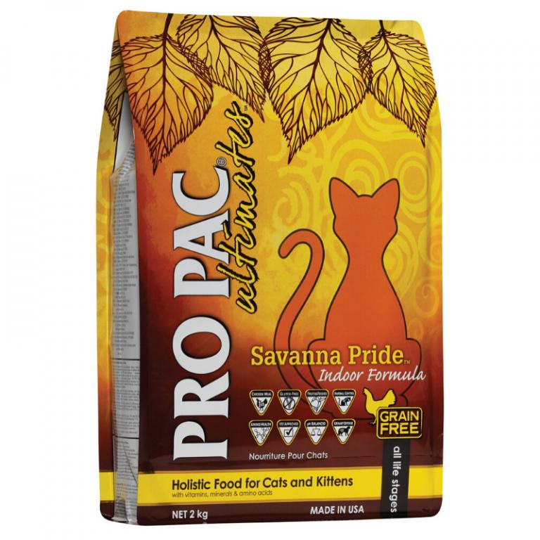 Pro Pac Ultimates Savanna Pride Cat Food