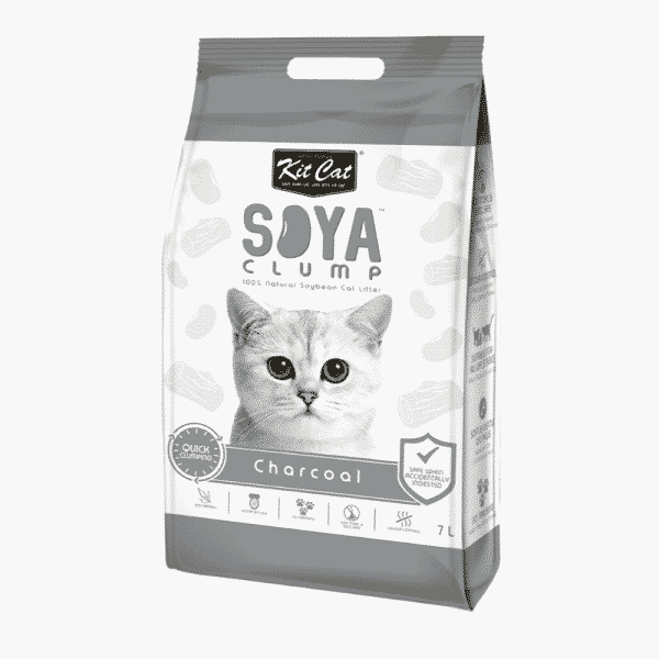 Kit Cat Soya Cat Litter Charcoal
