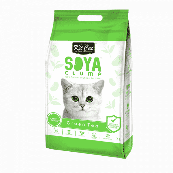 Kit Cat Soya Cat Litter Green Tea