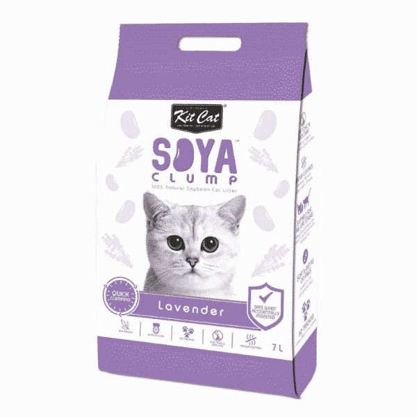 Kit Cat Soya Cat Litter Lavender