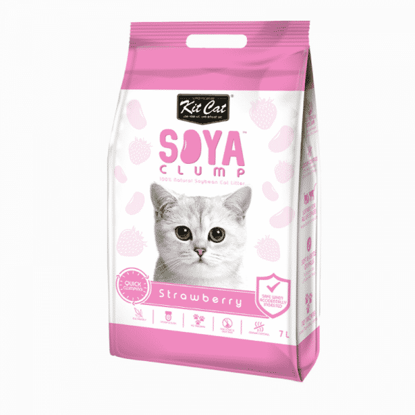 Kit Cat Soya Cat Litter Strawberry