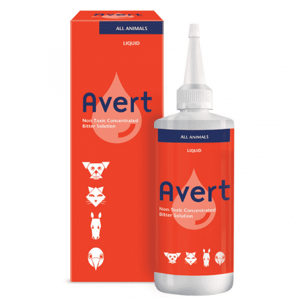 Kyron Avert Bitter solution and repellent