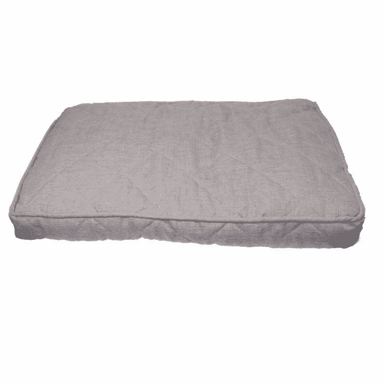 Rosewood Grey tweed dog bed