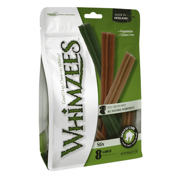 Whimzees Stix large