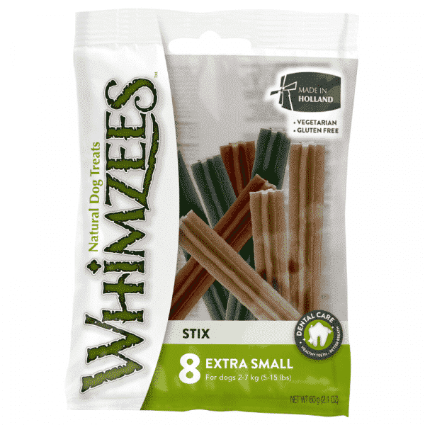 Whimzees stix x-small