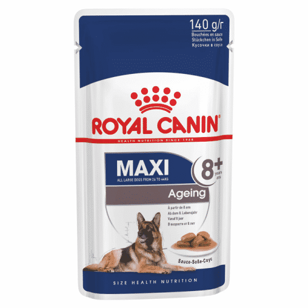 Royal Canin Maxi Ageing 8+ Wet Food Pouch