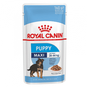 Royal Canin Maxi Puppy Wet Food Pouch