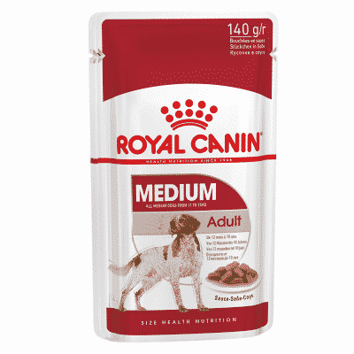 Royal Canin Medium Adult Wet Food Pouch