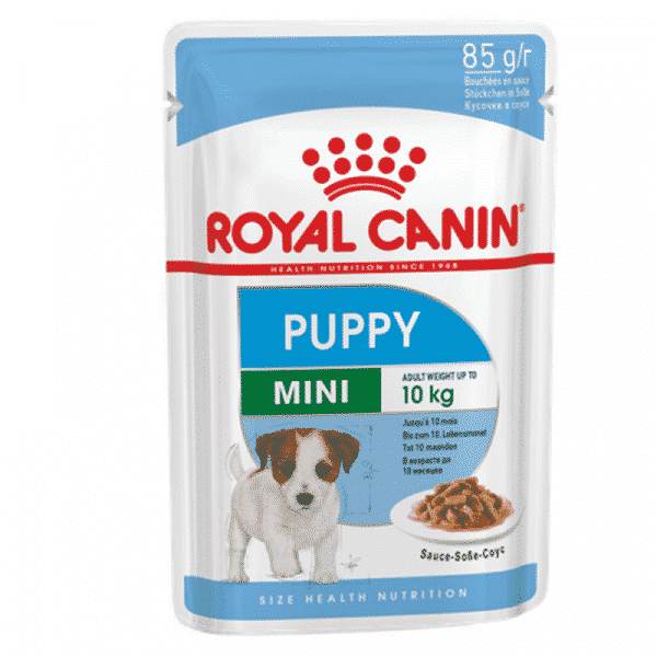 Royal Canin Mini Puppy Wet Food Pouch