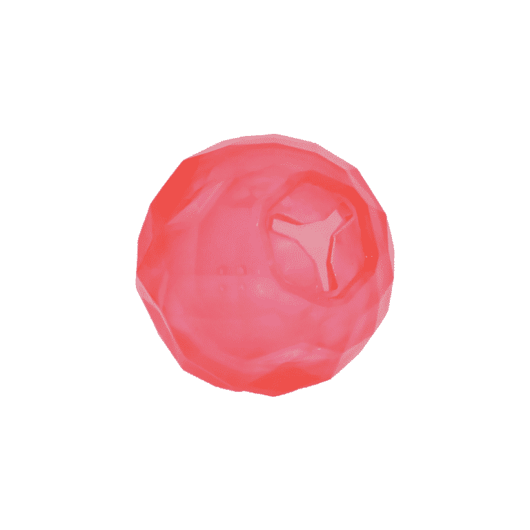 BioSafe™ Puppy Treat Ball pink