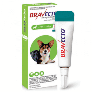 Bravecto Spot on for Dogs medium