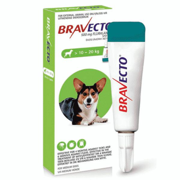 Bravecto Spot on for Dogs medium