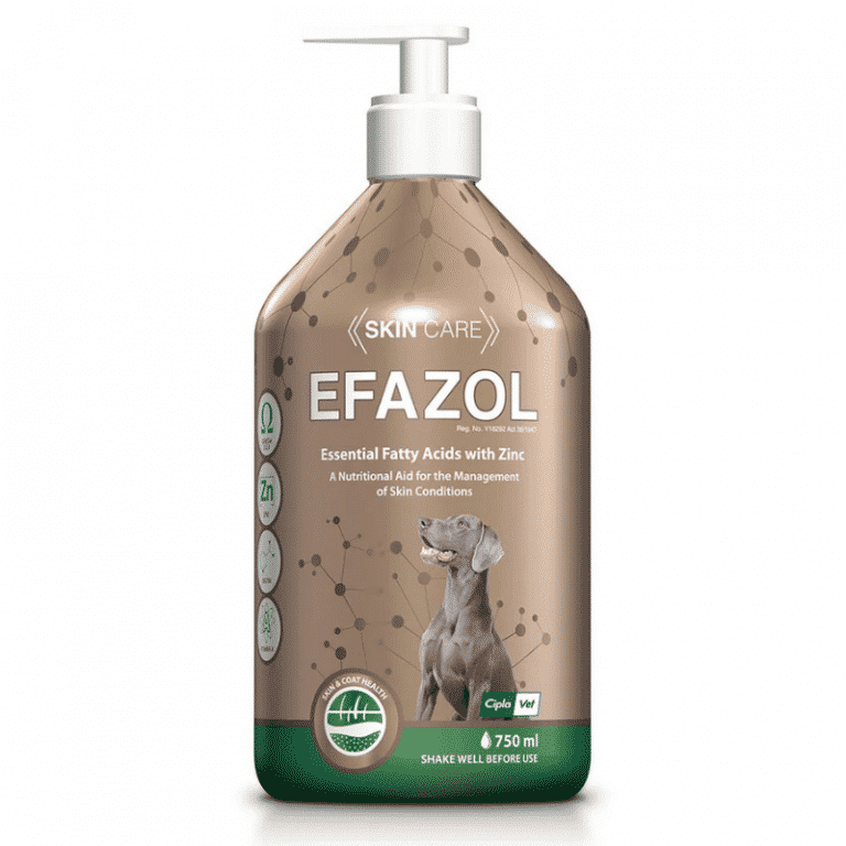 Efazol dog skin supplement