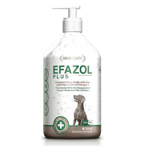 Efazol plus dog skin supplement