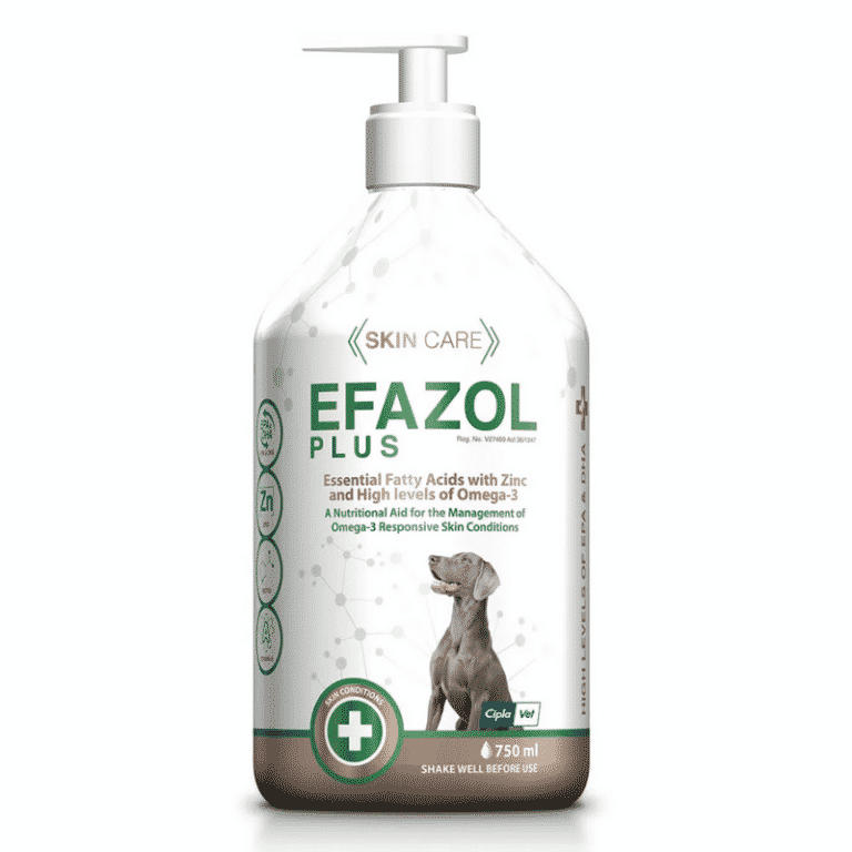 Efazol plus dog skin supplement