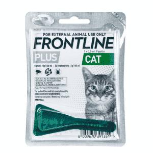 Frontline Plus Cat Tick & Flea Treatment single