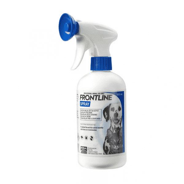 Frontline Plus Dog & Cat Tick & Flea Treatment Spray