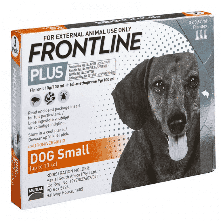 Frontline Plus Puppy Small Dog 10 kg Tick & Flea Treatment