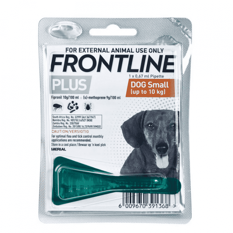 Frontline Plus Puppy Small Dog 10 kg Tick & Flea Treatment single