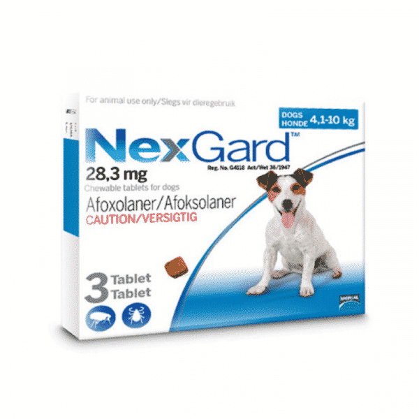 NexGard Chewable Tick & Flea Tablet for Dogs (3 Pack) small