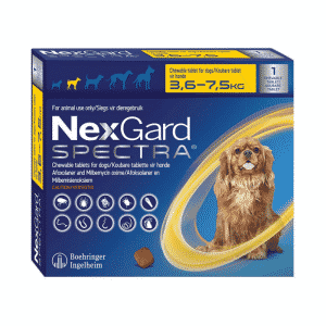 NexGard Spectra Chewable Mixed Parasite Tablets for Dogs (1 Pack) small