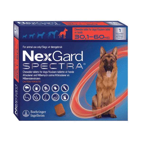 NexGard Spectra Chewable Mixed Parasite Tablets for Dogs (1 Pack) xlarge