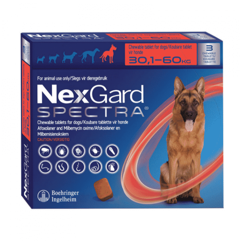 NexGard Spectra Chewable Mixed Parasite Tablets for Dogs (3 Pack) xlarge