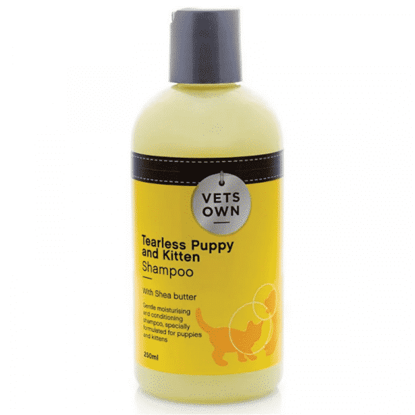 Rucenta Vets Own Tearless Puppy and Kitten Shampoo