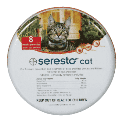 Seresto Cat 8-Month Tick & Flea Collar
