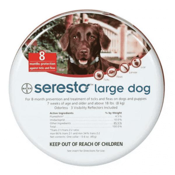 Seresto Large Dog over 8kg 8-Month Tick & Flea Collar