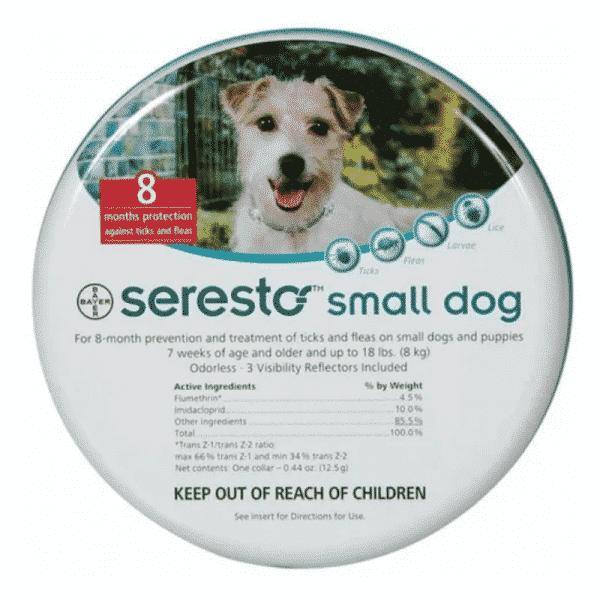 Seresto Puppy & Small Dog under 8kg 8-Month Tick & Flea Collar