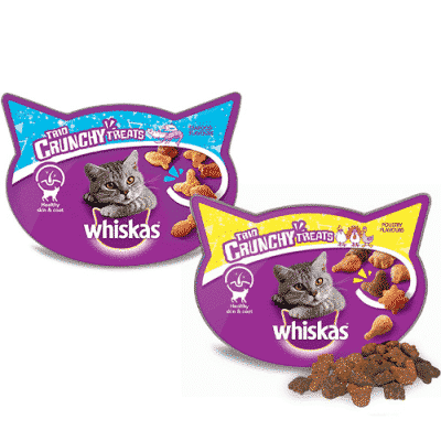 Whiskas Trio Crunchy Cat Treats